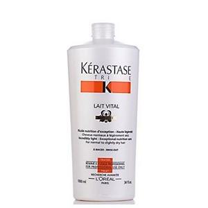 Cheveux Normaux à légèrement Sec Nutritive Lait Vital 1000ml - Kérastase
