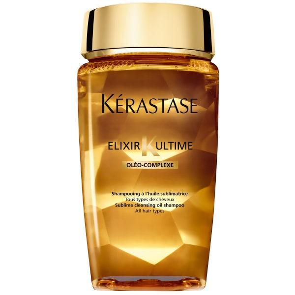 L'Oreal Kerastase elixir K ultime , shampooing à l'huile sublimatrice tout types de cheveux 250ml