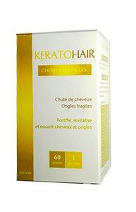 KERATOHAIR cheveux et ongles 60 gélules