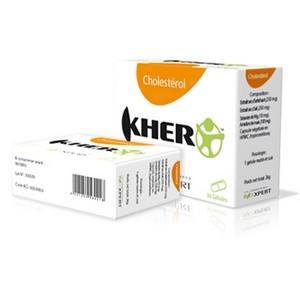 BIOXPERT KHER Cholestérol 30 gélules