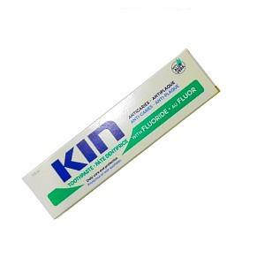Kin pate dentifrice anticaries avec fluoride et Aloe vera 125 ml