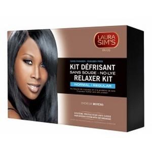 LAURA SIM'S Kit défrisant-moyen 405 ml - cheveux moyens