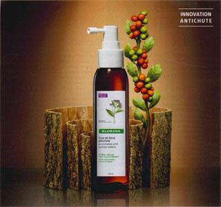 KLORANE Cure de Force Antichute spray cure complète à la quinine flacon 125ml