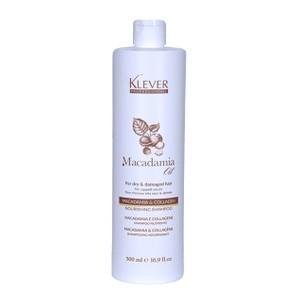 Klever Shampooing Macadamia et Collagen 500ml