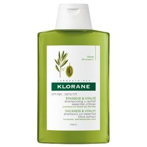 Klorane Shampoing à l'Extrait Essentiel d'Olivier Epaisseur et vitalité 200 ml