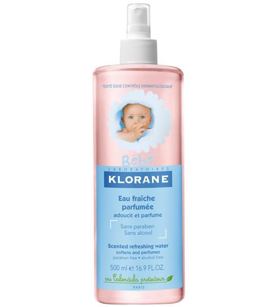 Klorane bébé eau fraîche parfumée (500 ml)