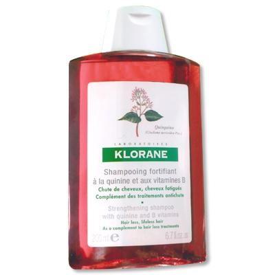 Klorane Shampooing Traitant Fortifiant à la Quinine et Vitamine B6 (400 ml)