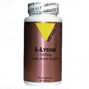 VIT'ALL+ L-Lysine 1000mg 60 comprimés