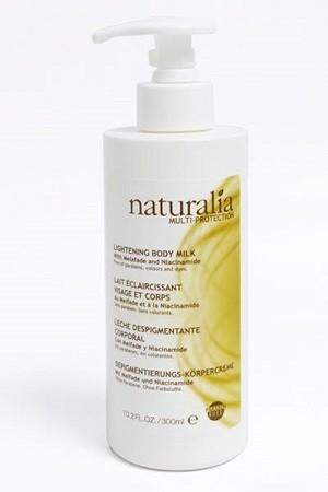 Naturalia Multi-Protection lait éclaircissant visage et corps 300ml