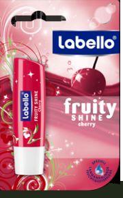 Labello Soin des lèvres fruity shine cherry parfum cerise fps10 4.8g