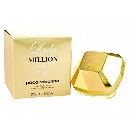 Offre Paco Rabanne lady Million Eau de parfum femmes 30ml