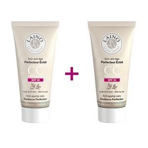 Offre LAINO Soin anti-age perfecteur éclat CC Crème SPF 30 (50ml) + LAINO Soin anti-age perfecteur éclat CC Crème SPF 30 (50ml) offert