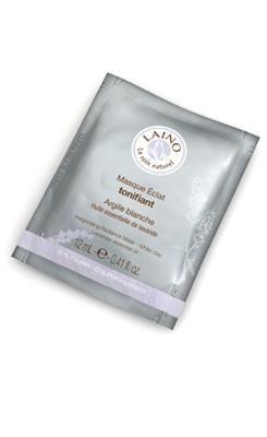 Laino Argile blanche Masque Monodose Masque éclat tonifiant (12grs)