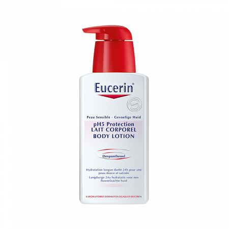 Eucerin pH5 Protection Lait Corporel  Peau Sensible Flacon 400 ml