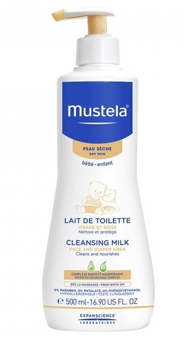 Mustela Lait de toilette bébé 500 ml