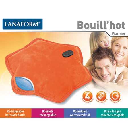 Lanaform Bouill'hot- Bouillote rechargeable autonomie jusqu'à 4h - Reacharge en 10 min
