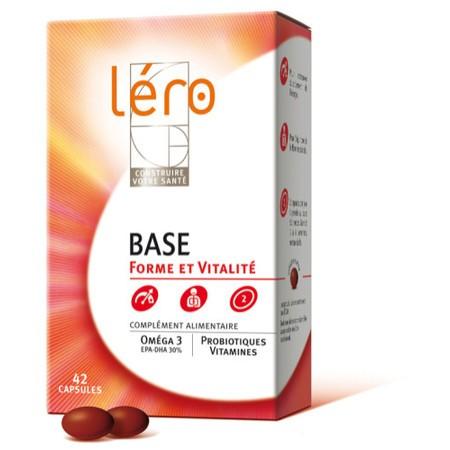 Léro Base forme et vitalité 42 capsules