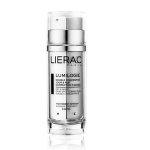 Lierac LUMILOGIE Double Concentré Jour et Nuit Correction Taches Flacon pompe 2 compartiments 30 ml