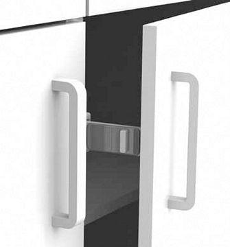Lindam Verrou double fermeture pour tiroirs et placards