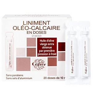 Gifrer liniment oléo-calcaire unidose (20x 10ml)