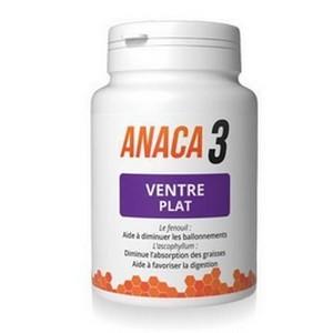ANACA3 Ventre Plat 60 gélules (30 Jours)