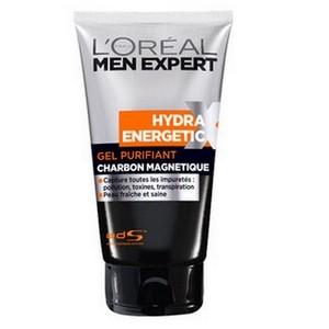 L'OREAL Men Expert Hydra Energetic X Gel Nettoyant Charbon Magnétique 150 ml 3600522053873