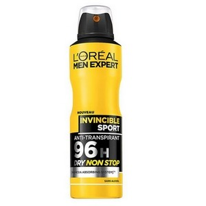 L'OREAL Men Expert Invincible Sport anti-transpirant 96H spray 200 ml 3600523434701