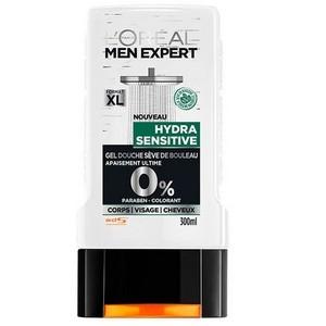 L'OREAL Men Expert Hydra Sensitive Gel Douche 0% (300ml) 3600523434534