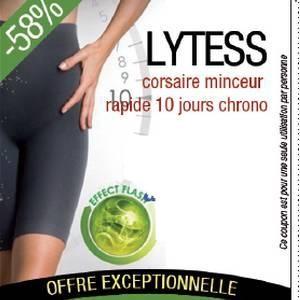 Promotion Lytess corsaire minceur 10 jours chrono(Nouveau!!!) L/XL 44-48