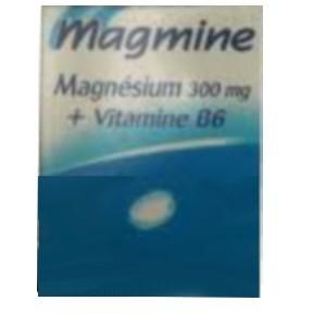 Magmine magnésium 300 mg + vitamine B6 - Parapharmacie au