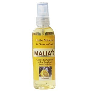 Malias huile amincissante 250 ml