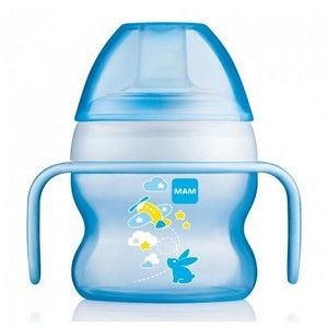 MAM Tasse Starter Cup couleur bleu 150ml