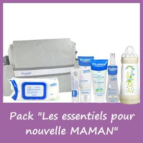 Pack Mustela Les essentiels pour une nouvelle maman