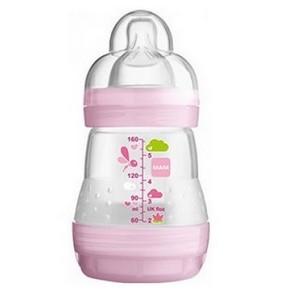 MAM Easy Start anti-colique couleur rose O+M Débit Lent 160ml