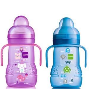 MAM tasse trainer 220 ml choix de couleurs