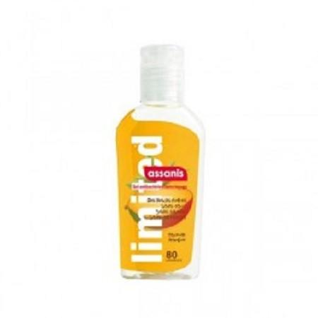 Assanis Mangue Gel Antibactérien Aloé vera + Pro-vitamine B5 Sans Rinçage 80 ml