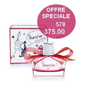 Offre Lanvin Marry Me Eau de parfum femme love edition 50 ml