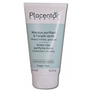 Placentor Vegetal Masque Purifiant à l'argile verte 150 ml