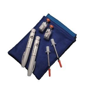 Medicool housse iso-therme pour insuline (diabète)  sans réfrigération électrique  Réf: POUCHO