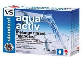 Aqua Select 4 sachets recharge pour Carafe filtre à eau Shark