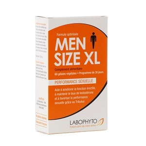 Labophyto Mensize XL performance érectile (60 gélules)