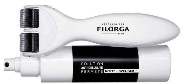 Filorga Meso sculpt programme Anticellulite fermeté NCTF SVELTAM 150 ml+ roller stimulant
