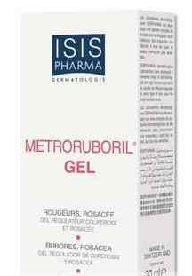 Isispharma Metroruboril gel anti-rougeurs anti-rosacée