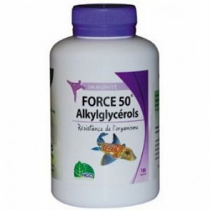 MGD Force 50 Alkylglycérols 180 Géllules