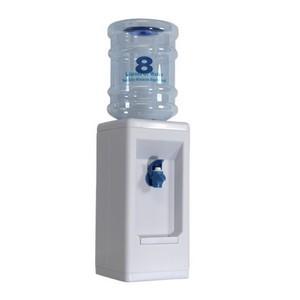 Mini distributeur 8 verre d'eau couleur blanche simple