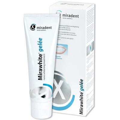 Mirawhite Gelée blanchissante et lissante pour les dents 100ml