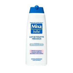 Mixa Bébé Lait de Toilette Très Doux 250ml Réf : 3600550454147