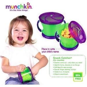 Munchkin Snack Catcher Boîte à Gouter