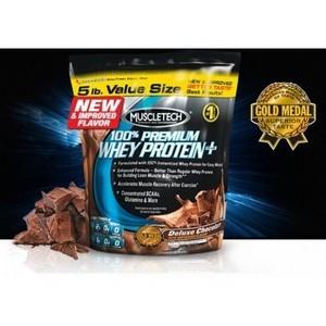 Muscletech 100% Whey Protein + 5LB (2.27 Kg) Choix de gout