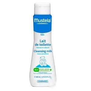 Mustela Lait de toilette bébé (200 ml)